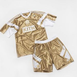 Kith Rays jersey gold jersey